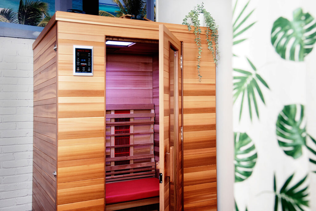 Foto Infrarood sauna